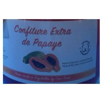 Confiture extra de papaye