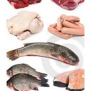 Poisson et viandes, produits de la ferme