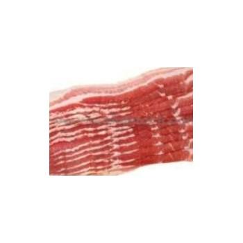 Bacon fumé en tranche