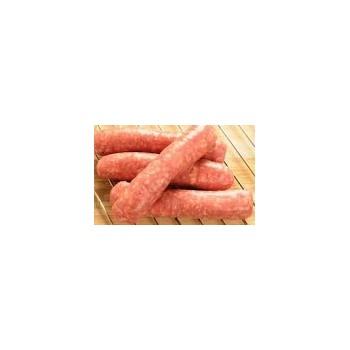 Salted porc sausage