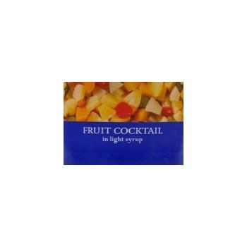 Mélange de fruits au sirop