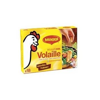Bouillon kub poulet 120gr