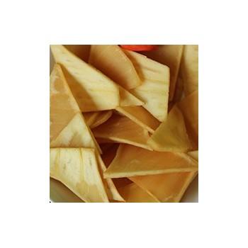 Frites de fruit à pain local