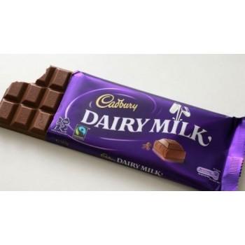 Cadbury milk chocolat