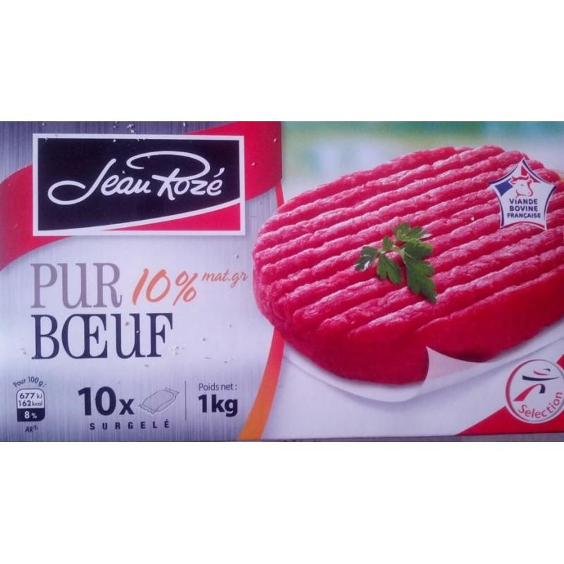 Minced beef steak frozen